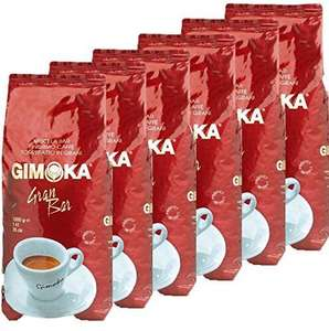 6x1kg Gimoka Italian Coffee Beans £37.99 @ Sold by Gimoka Coffee UK and Fulfilled by Amazon