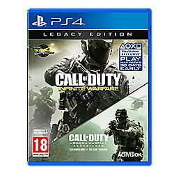 Call of Duty: Infinite Warfare Legacy Edition PS4 - £10 @ Tesco Direct