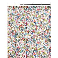 Parrot Fabric shower curtain £5 @ Asda