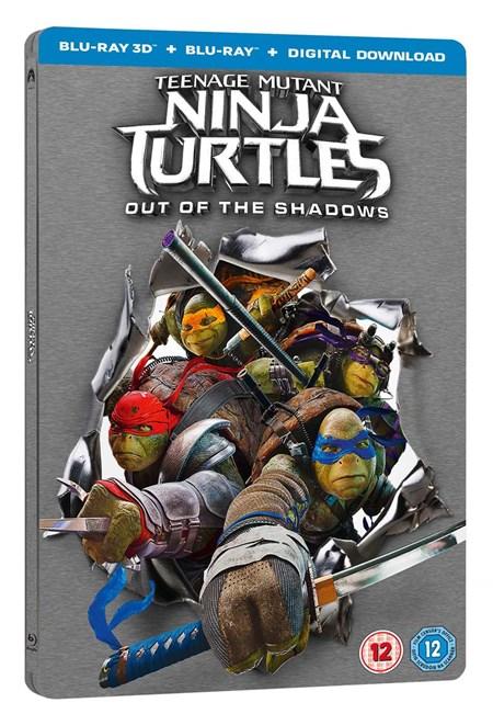 [Blu Ray 3D] Teenage Mutant Ninja Turtles: Out of the Shadows Steelbook - £4.50 - Zoom