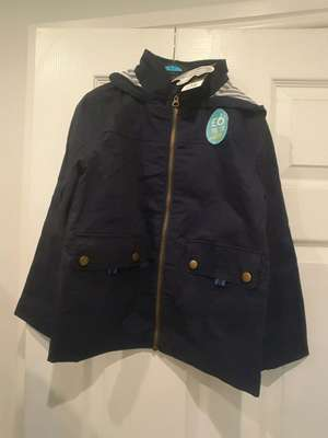 Boys showerproof spring/summer navy jacket - £6 instore @ ASDA (Shipley)