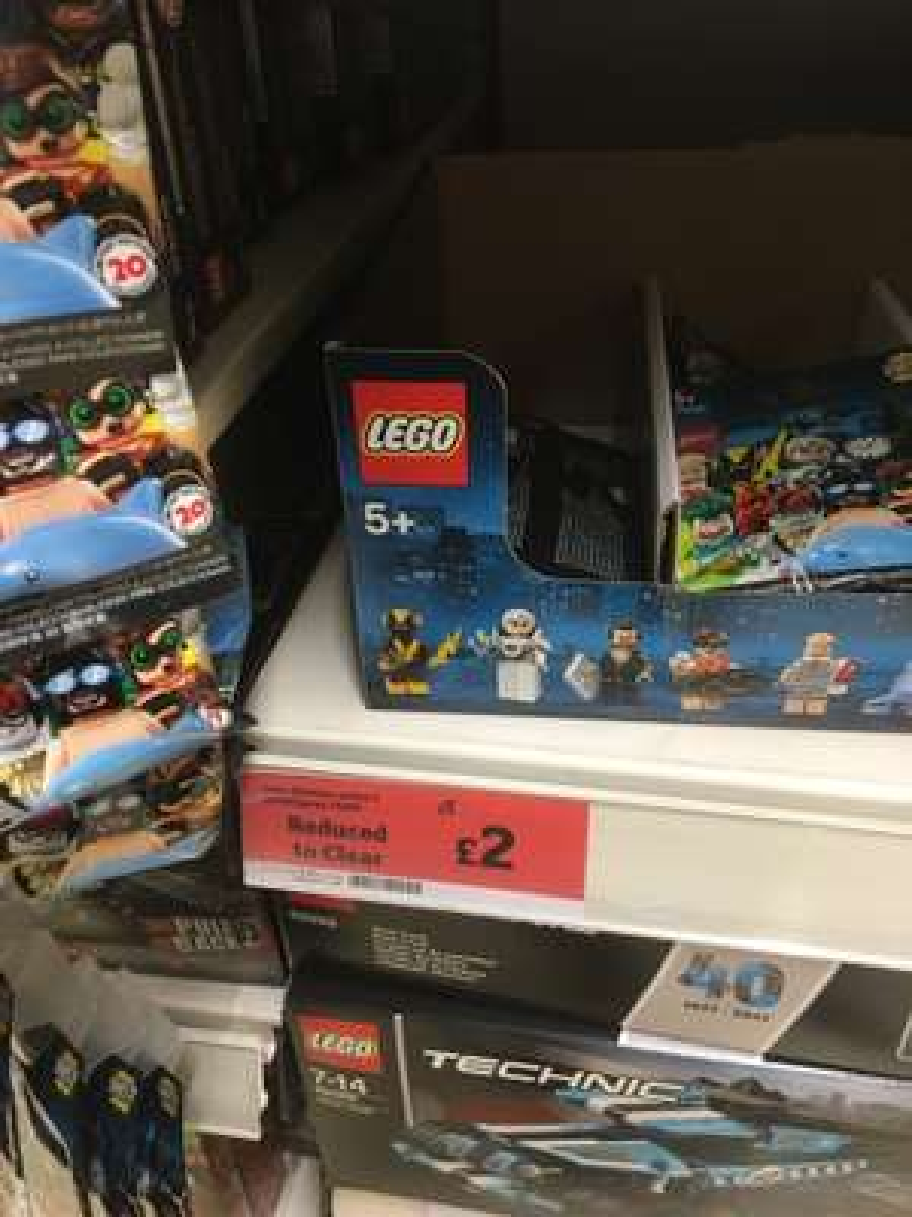 Lego Batman Movie Series 2 minifigures (71020) reduced to £2 - in store Sainsburys (York)