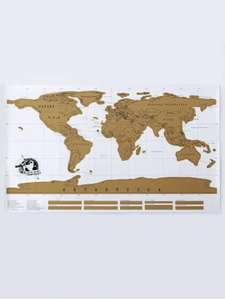 Scratch World Map Travel Edition Original - Bronze-colored - 88 x 52cm (Scratch off countries you've visited) £3.13 Del w/code @ Rosegal