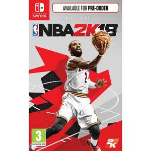 NBA 2K18 (Switch) £24.95 Delivered @ The Game Collection