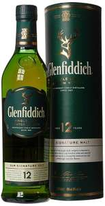 Glenfiddich 12 Year Old Whisky, 70cl - Prime Exclusive £25 @ Amazon