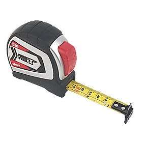 Forge Steel 5M tape measure £2.99 @ Screwfix