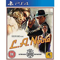 L.A. Noire (PS4/XBOX) £22 @ Tesco Direct