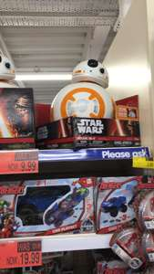 Star Wars Deluxe BB-8 £9.99 And 4 Foot Stormtroopers £19.99 At B&M