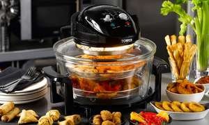 Tower Halogen Low-Fat Air Fryer  £34 + £1.99 delivery @ Groupon