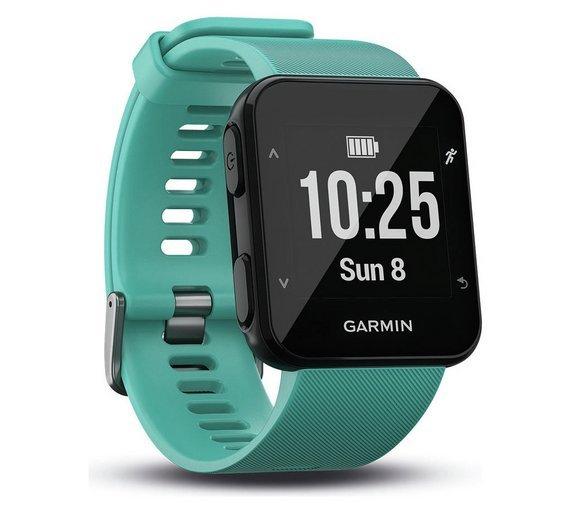 Garmin Forerunner 30 GPS Running Watch - Turquoise £99.99 @ Argos