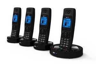 Quad set BT 6510 Black Nuisance Call Blocker - £49.99 Delivered @ BTshop (+5% Quidco)