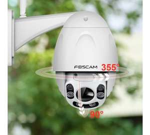 Foscam FI9928P 1080P HD PTZ with 60m Starvis Night Vision, FREE CLOUD £219.99 - Argos