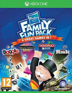 Hasbro Family Fun Pack (Xbox One) , for £12.03 plus delivery (£1.99) Amazon sold by popitinthepost.