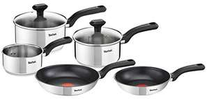 5 piece tefal comfort max induction pan set £59.99 Amazon