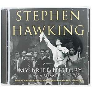 Stephen Hawking My Brief History - Audio Book 70% off £3 C+C @ The Works