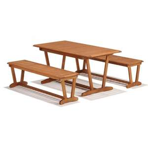 Children's Garden Table and Bench Set. Was £99.99 now £50 delivered with code @ Robert Dyas