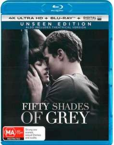 fifty shades of grey ( bluray ) unseen edition £1 instore @ poundland Streatham