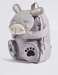 Kids' Rabbit Novelty Backpack was £16 now £9 C+C @ M&S (More in OP inc Sausage Dog Cross Body Bag was £12 now £7)