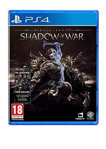 Middle-Earth: Shadow of War - including 'Forge Your Army' DLC PS4 & XB1 - £23.19 @ base.com