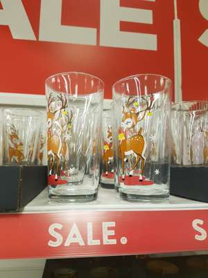 George HOME high ball glass - 9p instore (Hunts Cross)