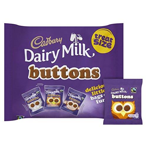 12 x 170g bags Cadbury Dairy Milk Buttons (Chocolate Treatsize Bag) £8.33 (Prime) £13.05 (Non Prime) @ Amazon