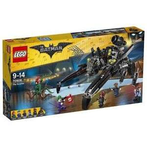 LEGO The Batman Movie The Scuttler 70908 RRP £84.99 NOW £55 FREE DELIVERY at Tesco eBay Outlet