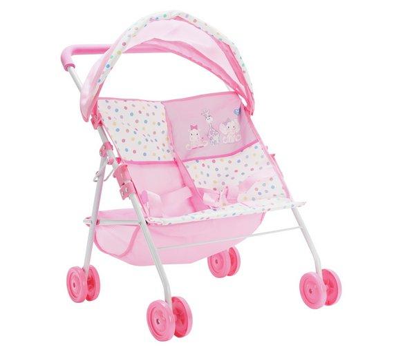 Chad Valley Dolls twin stroller now £4.99 @ Argos