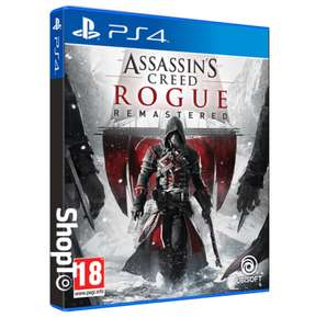 Assassin's Creed Rogue Remastered PS4 Game , for. £19.85 delivered Shopto