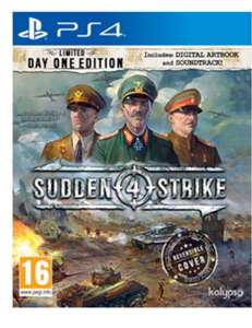 Sudden Strike 4 - Limited Day One Edition (PS4) £16.85 - Base.com