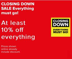 Maplin Closing Down Sale at least 10% off everything