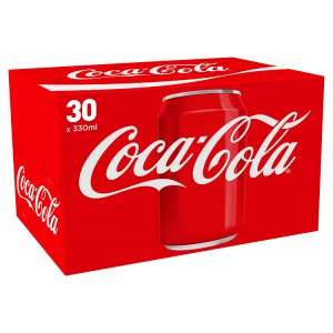 30 Cans of Coke/Diet Coke/Coke Zero for £7.50 @ Asda and Morrisons