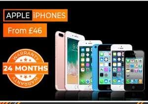 iPhones from £24 (24mth warranty) @ Grainger Games - preowned