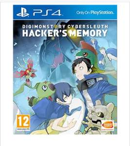 Digimon Story: Cyber Sleuth - Hacker's Memory (PS4) , for £29.85 delivered @ Base