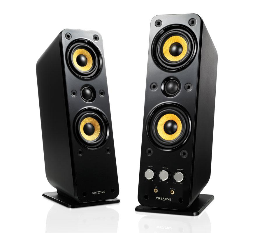 GigaWorks T40 Series II 2.0 Speakers (+ Free Creative Flex headphones) (Free P&P) - £89.99 - Creative