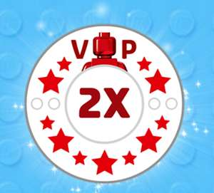 DOUBLE 2x VIP Points from Lego Store