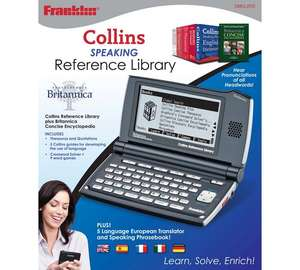 Franklin DMQ-2110 Collins Speaking reference library £46.99 @ Argos