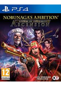 Nobunaga's Ambition: Sphere of Influence - Ascension PS4 £11.99 @ Base