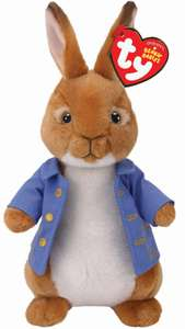 Peter Rabbit Plush Beanies Pre-Order Zoom only £7.19 with code SIGNUP10 @ Zoom discount offer