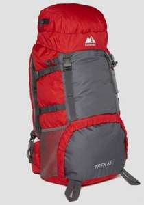 Eurohike 65L Backpack £19.13 + £1 delivery to store or £2.99 home delivery at Millets