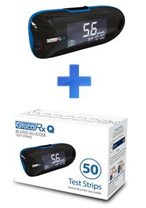 Glucorx Q blood glucose test kit and test strip bundle - £9.99 @ love.yourself ebay