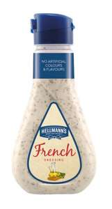 Hellmans French Dressing 235ml Three for £1 @ Heron Frozen Foods