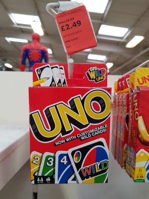 Uno instore at The Range for £2.49