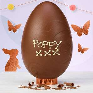 5 x Thorntons Personalised Easter Eggs with code for £18 delivered