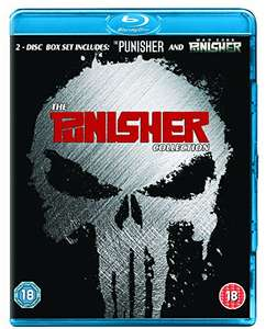 The Punisher/The Punisher: War Zone [Blu-ray] [Region A & B & C]  *Amazon Prime* for £6.95 (£8.94 non Prime)