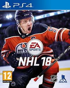 NHL hockey 18 - PS4 £33.99 @ Sold by monaghan_prints and Fulfilled by Amazon