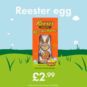 Reese's Peanut Butter Reester Bunny just £2.99 @ LIDL