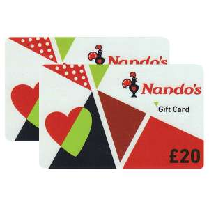 £40 Nando's Gift Cards Multipack (2 x £20) £33.99 @ Costco