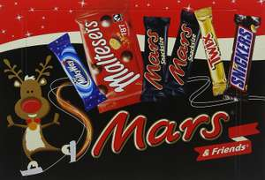Mars Medium Selection Box, 181 g - Pack of 8 . £6.47 Prime / £10.46 Non Prime @ Amazon.
