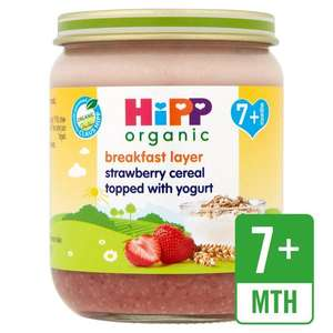 Hipp organic 7Mths+ jars 160g  4 for £1 at Fultons foods Cottingham