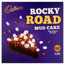 *GLUTEN FREE* Cadbury Rocky Road Mud Cake 420g @tesco